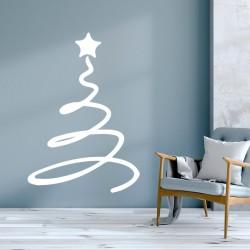 Dekorativer Vinyl-Weihnachtsbaum