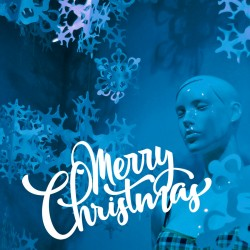Frohe Weihnachten Aufkleber