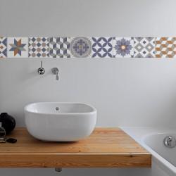 Individual Valencia vinyl hydraulic tiles