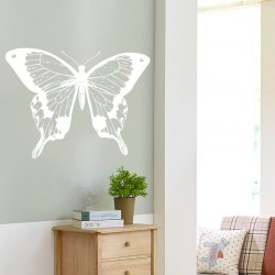Decorative vinyl butterfly