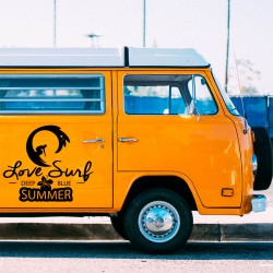 Vinyle de surf pour camionnettes
