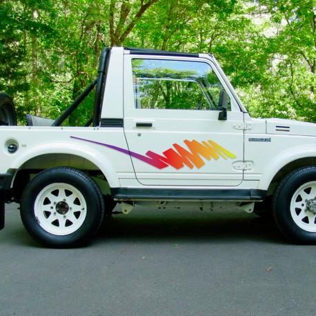 Kit de vinilos Suzuki Samurai 80's