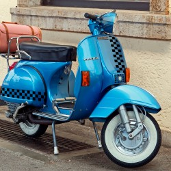 Vespa frame stickers