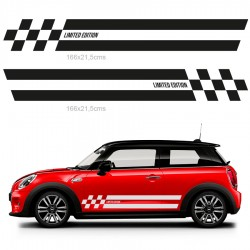 Adhesives side stripes mini limited