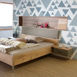 Geometric printed wall vinyl