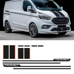 Vinyls for ford transit custom sport