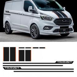 Vinyls für Ford Transit Custom Sport