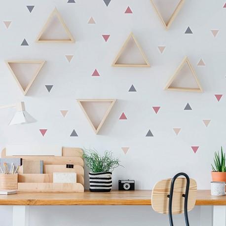 Triángulos estilo nórdico