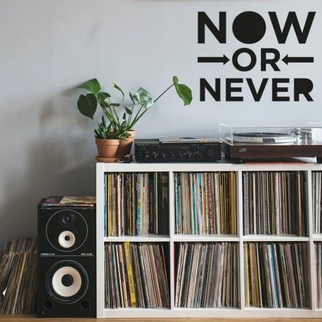 Jetzt oder nie