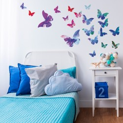 Mariposas de colores