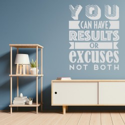 Frase motivadora vinilo decorativo