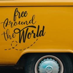 Camper free adhesive vinyl