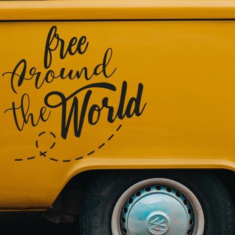 Vinilo adhesivo Camper free