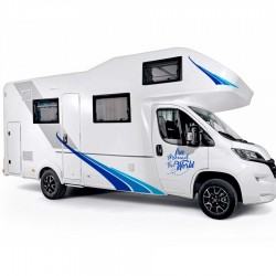 Adhesives for decorating motorhomes