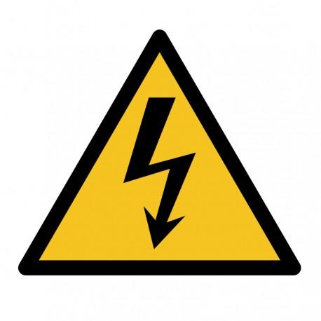 Pegatina adecuación riesgo eléctrico