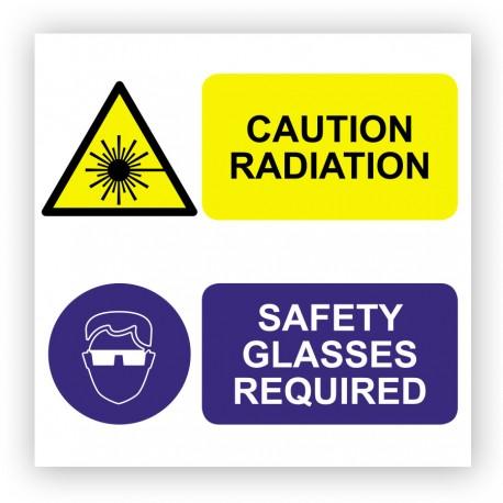 Radiation de danger d'adéquation Sticker