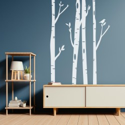 Decorative vinyl Forest fantasy for wall
