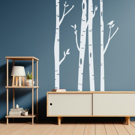 Vinilo decorativo Bosque fantasía para pared
