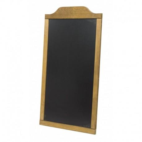 Pizarra madera 47x84cms marco deco