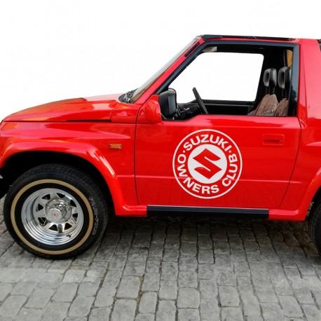 Autocollant Suzuki Owner Club