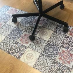 Hydraulic seenefa floor protector