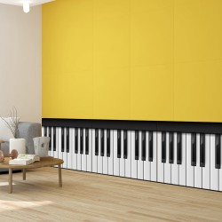 Cenefa Wall Keyboard Piano