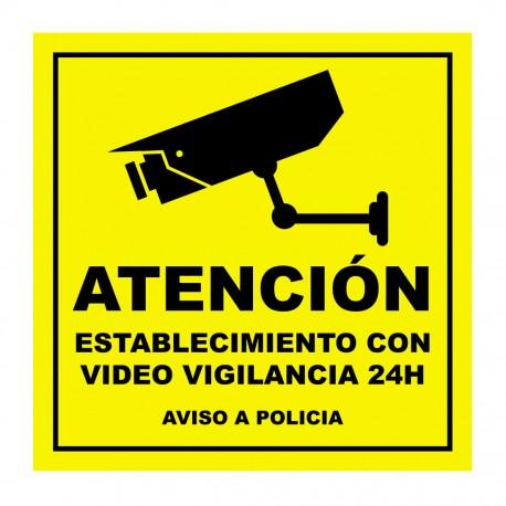 Videoüberwachungsaufkleber