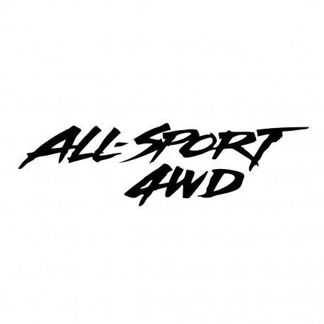 Décalcomanies 4x4 All Sport 4WD