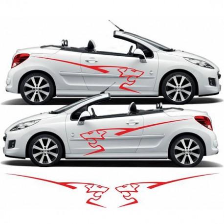 Stickers Peugeot Lion