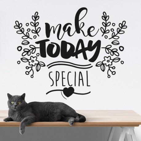 Rendre aujourd'hui spécial