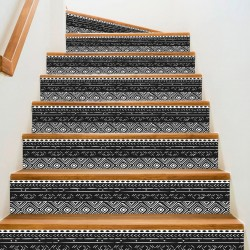 Adhesives for African mudcloth-style steps