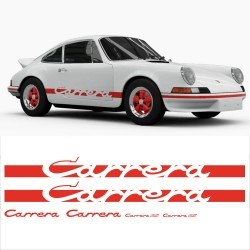 Porsche Carrera Replica Stickers