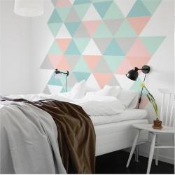 Cabecero dormitorio de vinilo de estilo nórdico