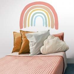 Tête de lit arc-en-ciel