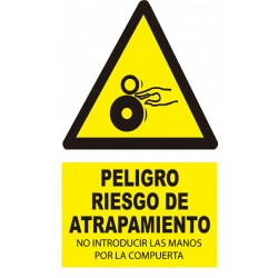 Piégeage de sécurité d'adéquation Sticker