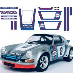 Porsche 911 klassische Martini Racing Replik Aufkleber