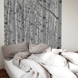 Birch headboards for bedroom