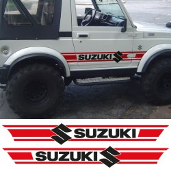 Side bands replicates suzuki samurai