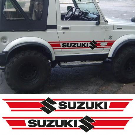 Bandes latérales réplique Suzuki Samurai