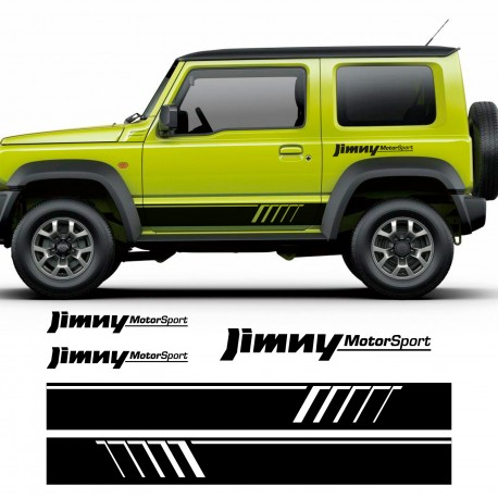 kit de adhesivos para Suzuki Jimny motorsport