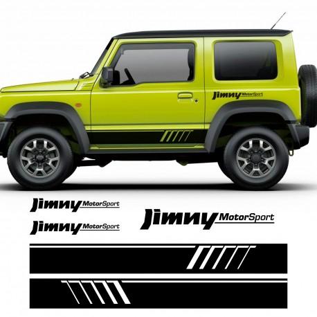 kit d'autocollants pour Suzuki Jimny Motorsport