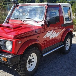 Side bands for Suzuki Jimny