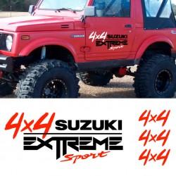 Adhesivos Suzuki 4x4 extreme