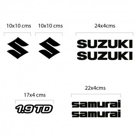 Kit de vinilos Suzuki Samurai Disesel