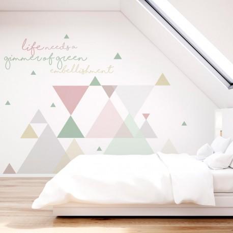Wandkomposition im nordischen Stil