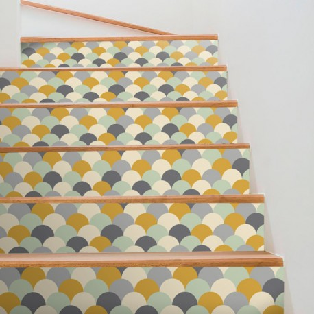 Scandi Style Step Stickers
