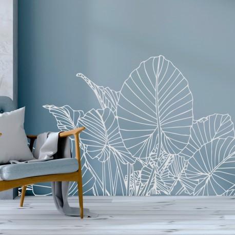 Plantas de fantasía para decorar paredes