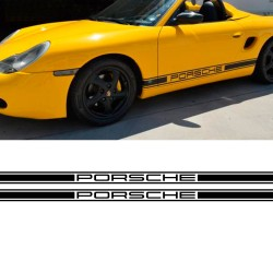 Stickers side stripes replica Porsche Boxter