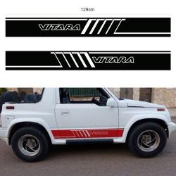 Bandas laterales para Suzuki Vitara corto del 92