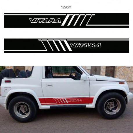 Seitenstreifen für Suzuki Vitara kurz ab 92